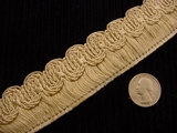 Italian Fringe Trim Made in Italy Vintage Decorative Braid Trim