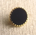 Black Velvet Button #BU-4