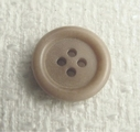 Tan Beige 4 Holes Button #BU-9