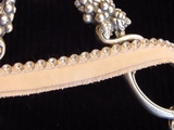 Rhinestone Peach Trim