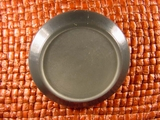 Italian Coat Buttons Wholesale (24pcs) Shank Buttons 1 1/2 inches Grey #bag-358