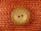 Italian Coat Buttons Wholesale (36pcs) 2 holes Designer Buttons 1 1/8 inches Tan #bag-359