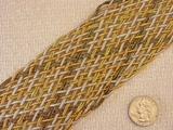 Fancy Gold Silver Metallic Cord Braided Trim