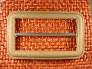 Buckle 1 1/2 inches X 2 1/2 inches Tan #Bpiece-231