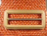 Buckle 1 1/4 inches X 2 3/4 inches Tan #Bpiece-232