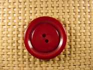 Designer 2 hole Buttons 1 1/8 inches Red Wine #Bpiece-242