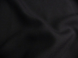 Deep Dark Navy Wool Blend Fabric # 3F-101