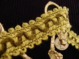 Chenille Braided Trim Made in Italy Vintage Loop Braid Trim