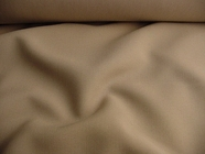 Summer Beige Washable Wool Blend Fabric # WL-79