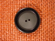 2 hole Buttons 1 3/8 inches Black #Bpiece-290