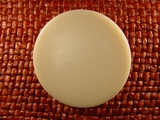 Designer Shank Buttons 1 1/2 inches Off White #Bpiece-362
