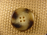 4 hole Italian Buttons 1 1/4 inches Earthtone #Bpiece-369