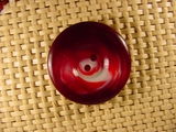 Designer 2 hole Buttons 1 1/8 inches Red Wine #Bpiece-397