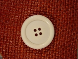 Italian 4 hole Buttons 1 3/8 inches Off White #Bpiece-328