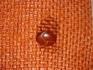 Faux Leather Shank Buttons from Italy 5/8 inch Brown #Bpiece-300