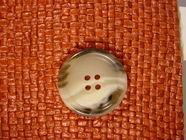 Designer 4 hole Buttons from Italy 1 1/8 inches Earthtone #Bpiece-301