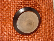 Designer Shank Buttons 1 1/2 inches Chocolate Brown #Bpiece-304