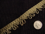 Loop Braid Trim Made in Italy Vintage Decorative Braided Trim