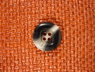 Italian Designer 4 hole Buttons 7/8 inch Grey #Bpiece-315