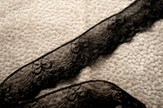 "1 3/4"" Black Lace Trim #1019"