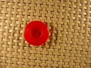 Designer 2 hole Buttons 5/8 inch Red #Bpiece-377