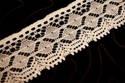 "2 3/4"" Off White Vintage Lace Trim #1083"