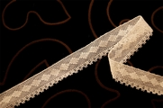 "3/4"" Beige Vintage Cotton Lace Trim #1248"