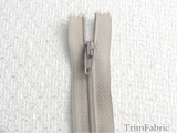 "23"" Light Gray Zipper"