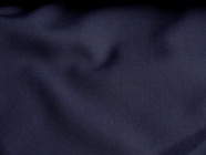 Medium Navy Wool Blend Gabardine Fabric #WL-414