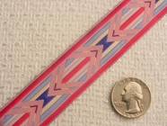 Pretty Pastel Jacquard Ribbon #WR-28