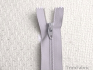 "7"" Gray Blue Zipper"