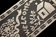 "5"" Off White Welcome Friends Lace Trim #265"