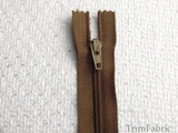 "7"" Chestnut Zipper"