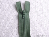 "7"" Sea Green Zipper"