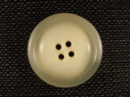 Italian Coat Buttons Wholesale (20pcs) 4 holes Designer Buttons 1 3/8 inch Off White #bag-6
