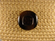 """Italian Buttons Wholesale (86pcs) 3/4"""" Multi Brown Textured Square Centered 4 Hole Sewing Button"""
