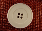 4 hole Italian Buttons 1 3/8 inches Off White #Bpiece-193