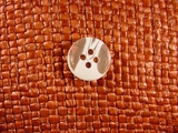 Designer 4 hole Buttons 5/8 inch Clear White #Bpiece-217