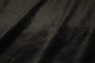 Black Velour Knit Fabric #NV-399