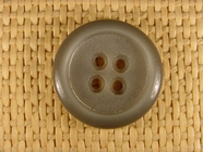Italian Coat Buttons Wholesale (36pcs) 4 holes Designer Buttons 1 1/8 inch Sage Green #bag-73