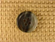 "Italian Buttons Wholesale (132pcs) 3/4"" Multi Gray Textured 4 Hole Button"