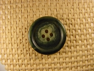 "Italian Coat Buttons Wholesale (48pcs) 1"" Multi Green 4 Hole Button"