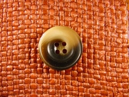 "Italian Buttons Wholesale (36pcs) 7/8"" Brown Beige 4 Hole Sewing Button"
