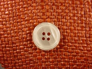 "Italian Buttons Wholesale (48pcs) 7/8"" Textured 4 Hole Pearl Button"