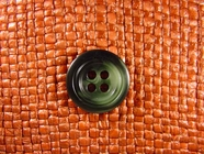 "Italian Buttons Wholesale (48pcs) 3/4"" Multi Green Textured 4 Hole Sewing Button"