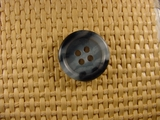 "Italian Buttons Wholesale (72pcs) 3/4"" inch Multi Stone Blue 4 Hole Sewing Button"
