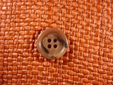 """Italian Buttons Wholesale (72pcs) 3/4"""" Taupe Brown Textured 4 Hole Sewing Button"""