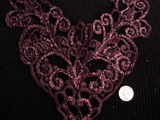 Wine Vintage Venise Lace Applique #AP-255