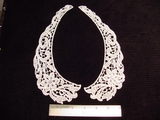 Venise Lace Collar Applique (Pair) #AP-66