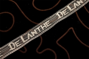 "3/4"" DE LANTHE Off White Lace Trim #216"